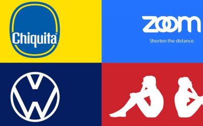 Logo redesign in het belang van 'social distancing'